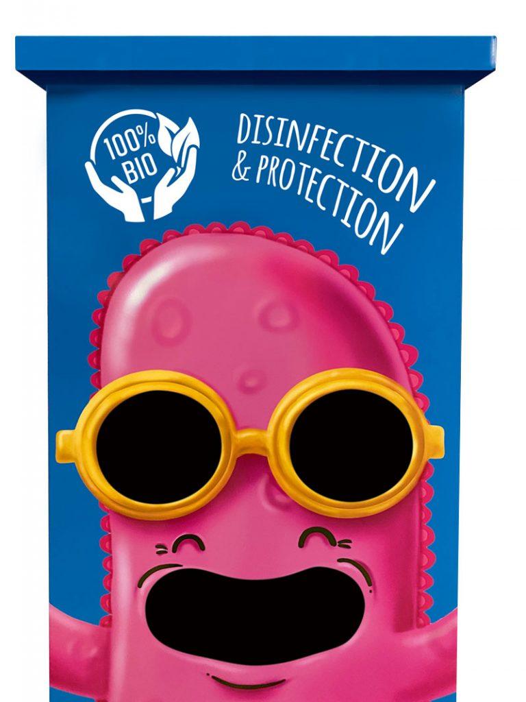 Mr Probi desinfectie machine voor handen te ontsmetten